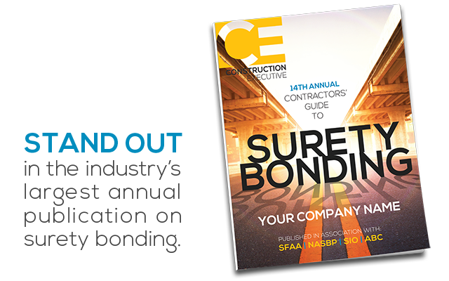 CE's 14th Annual Contractos' Guide to Surety Bonding