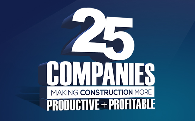 CE 25 Compannies Making Construction More Productive + Profitable