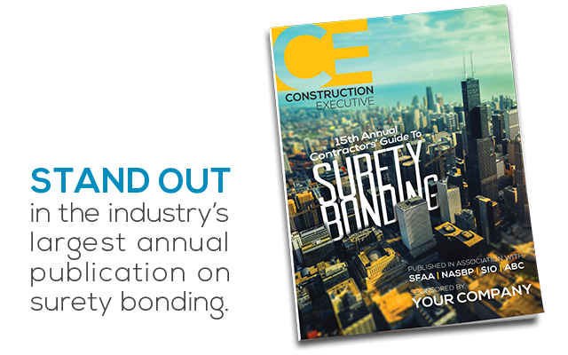 CE's 15th Annual Contractos' Guide to Surety Bonding