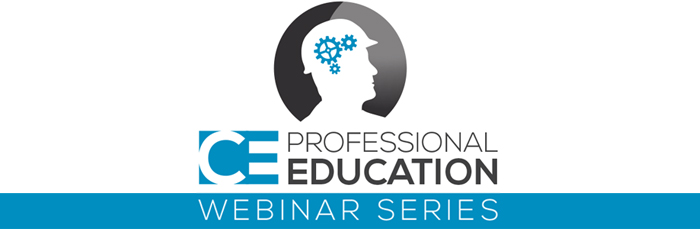 CE Professional Education Webinar Series