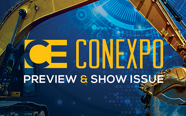 CE CONEXPO Preview and Show Issue