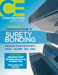 Construction Executive 13th Annual Contractos' Guide to Surety Bonding